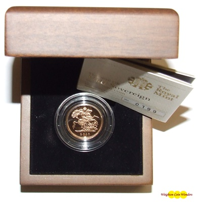 2010 Gold Proof 1/2 SOVEREIGN - NOW IN STOCK